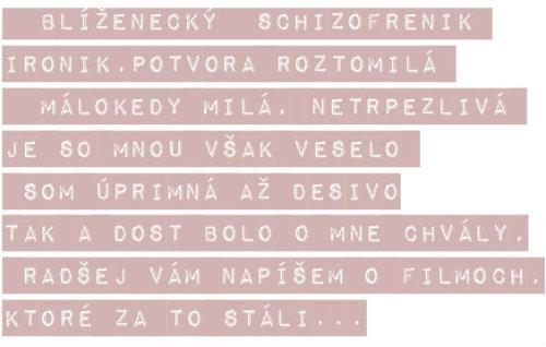 Blizenecky schizofrenik