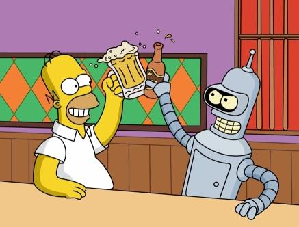 Homer a Bender