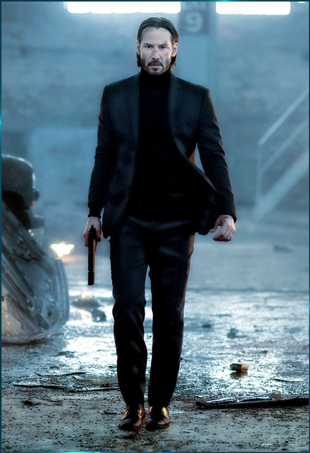 John Wick - Keanu Reeves - John Wick (2014-)