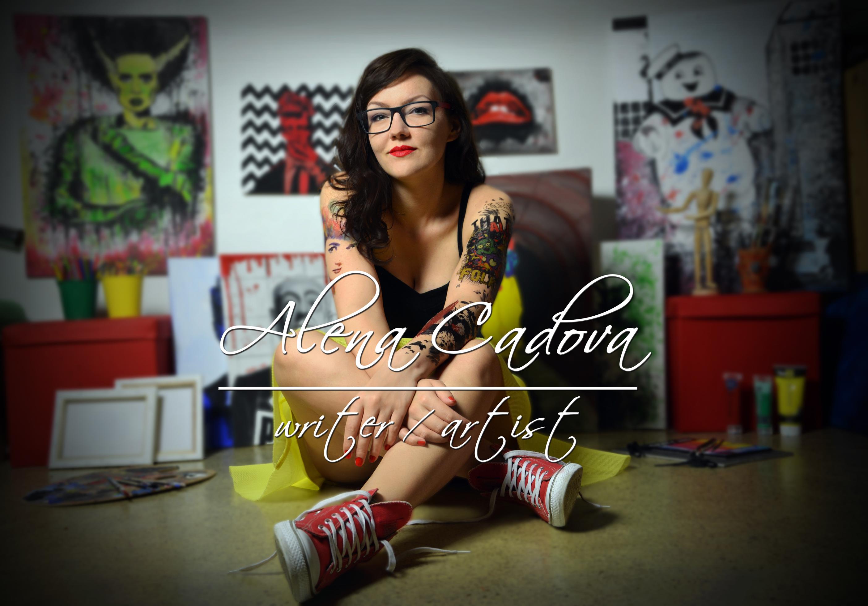 Alena Cadova Being Creative