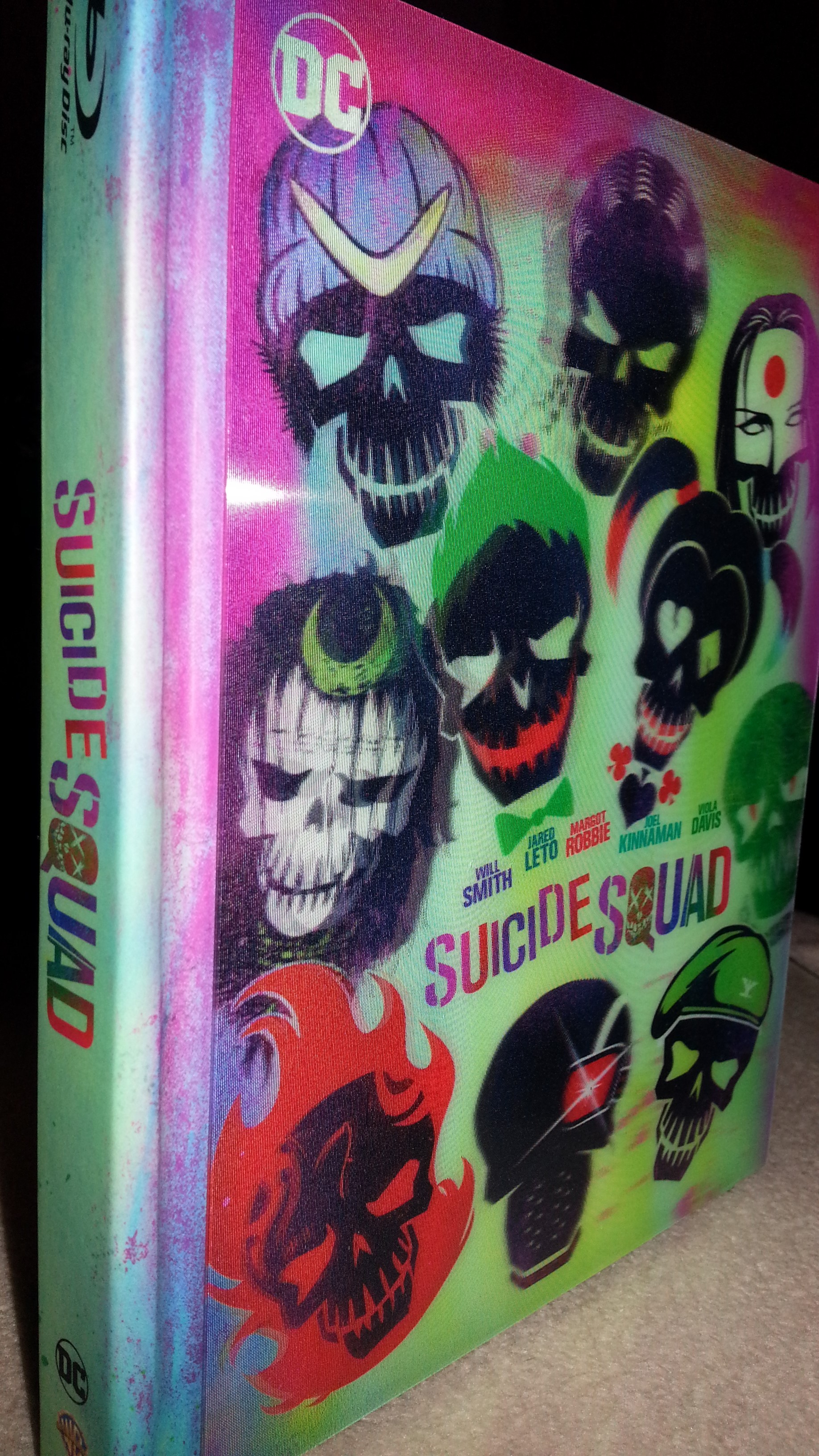 Suicide Squad Extended Cut: Digibook + Lenticular Collectible Packaging
