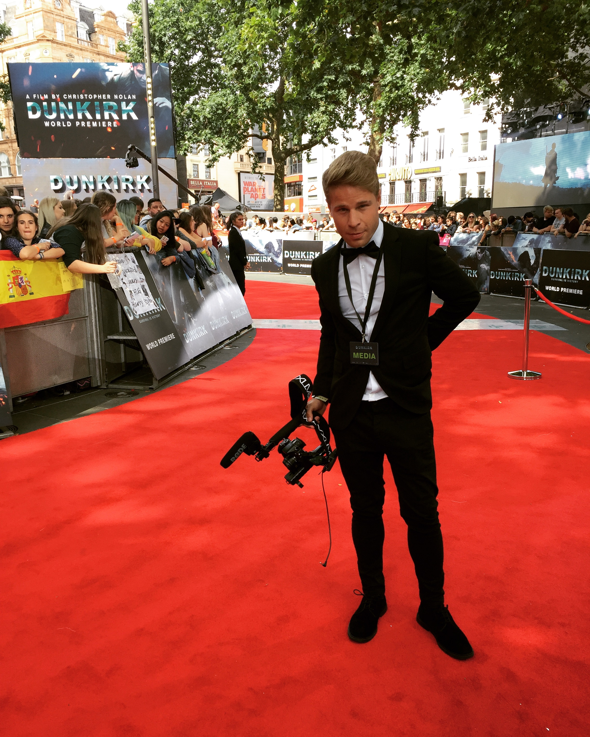 DUNKIRK - World Premiere - London