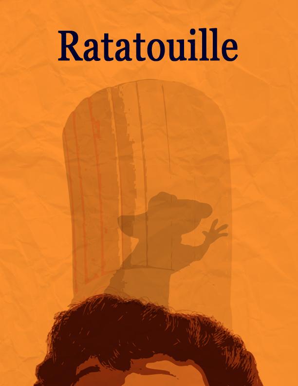 Minimal posters - Ratatouille