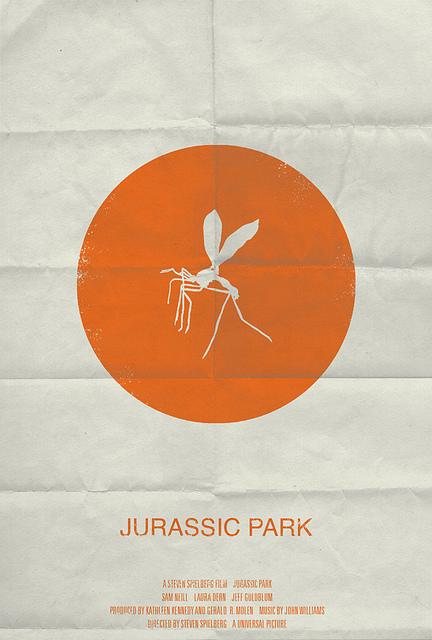 Minimal posters - Jurský park