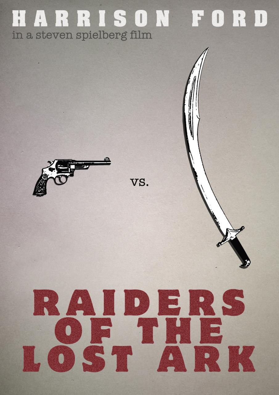 Minimal posters - Indiana Jones a Dobyvatelé ztracené archy