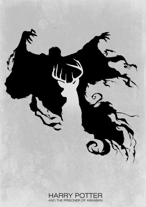 Minimal posters - Harry Potter a Vězeň z Azkabanu