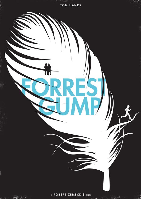 Minimal posters - Forrest Gump