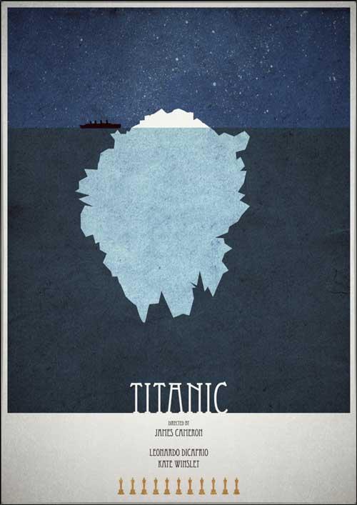 Minimal posters - Titanic