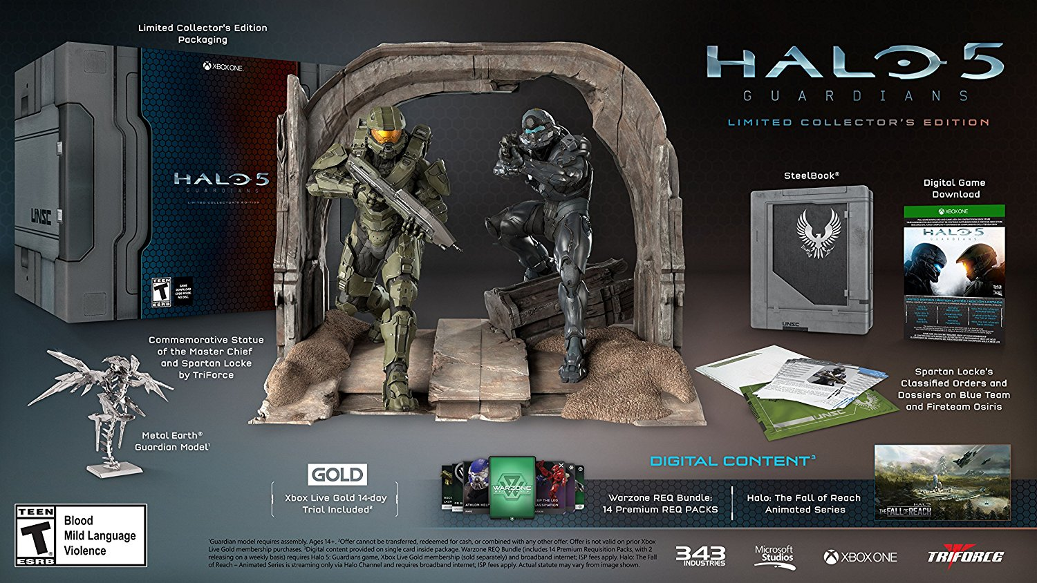 Halo 5: Guardians - Collector's Edition
