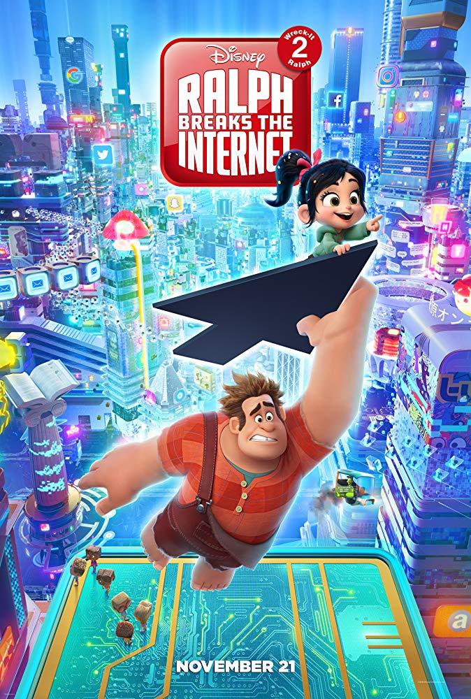 Raubíř Ralf a internet