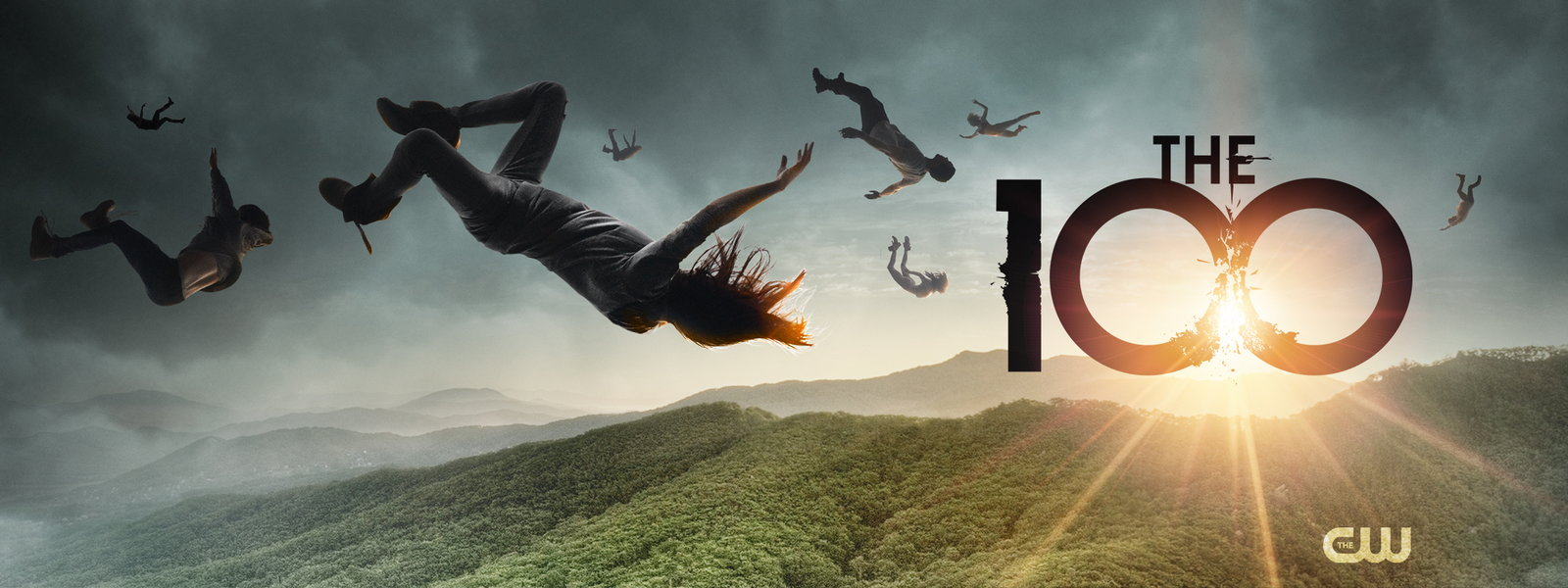 the 100 s1 banner