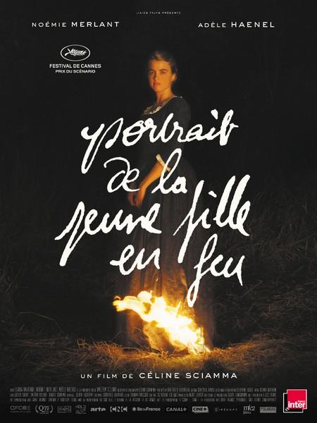 Portrait de la jeune en feu