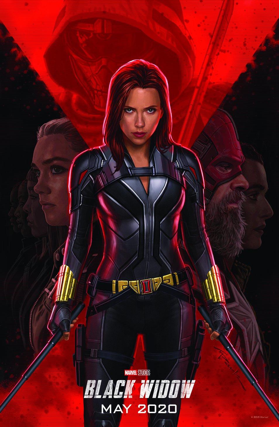 Black Widow plakát