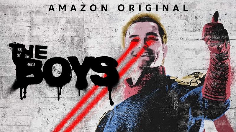 the boys, nejlepší seriál Amazonu