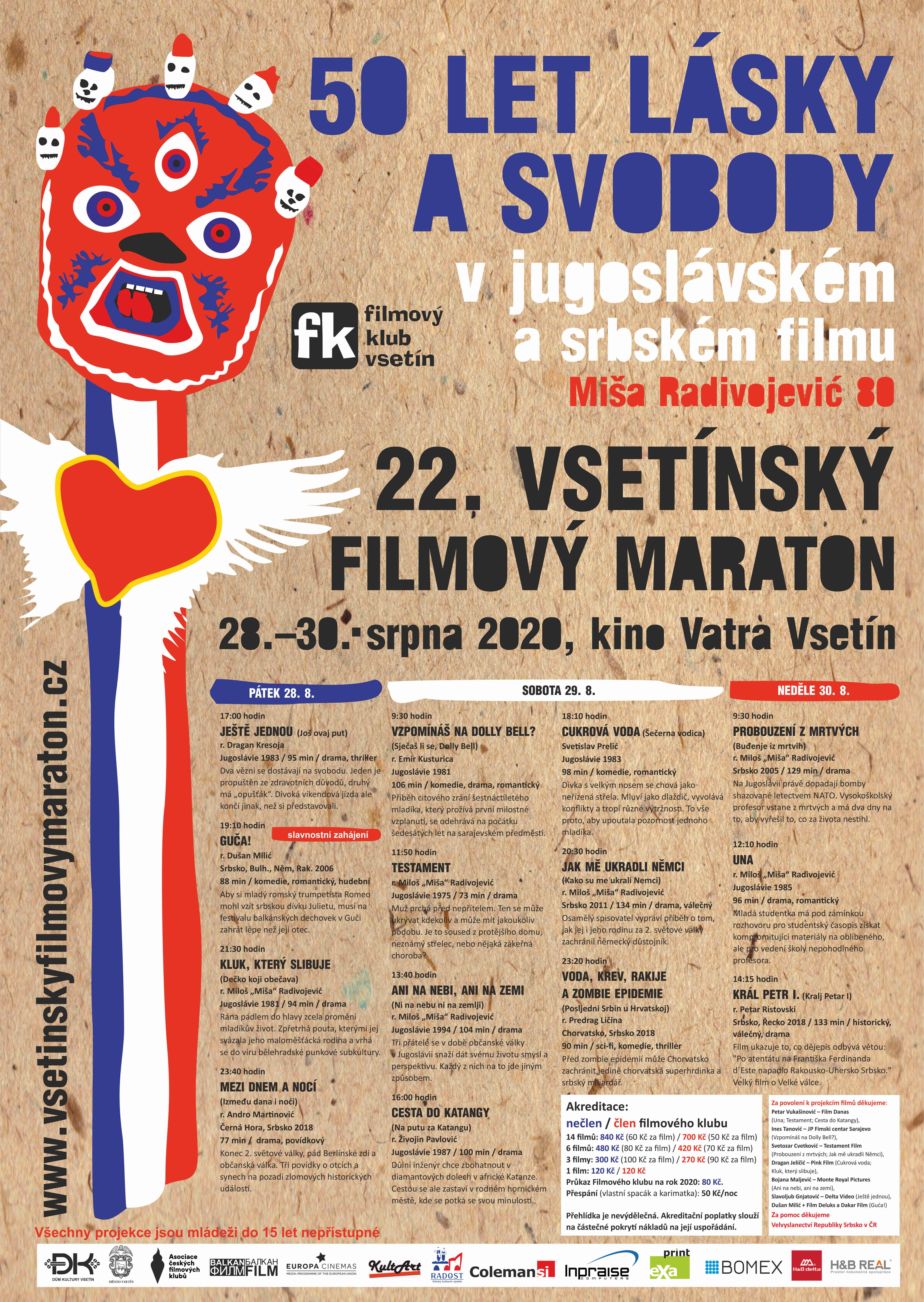 Vsetínský filmový maraton 2020